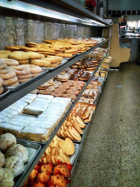 Panadería Tampico en la Ciudad de México