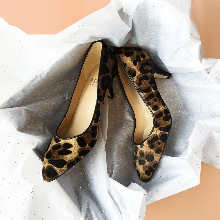 Iselin pumps in leopard.