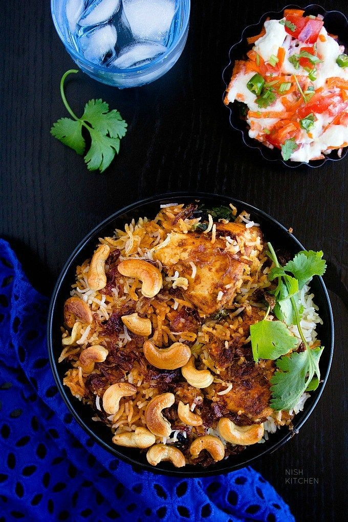 butter chicken biryani recipe video