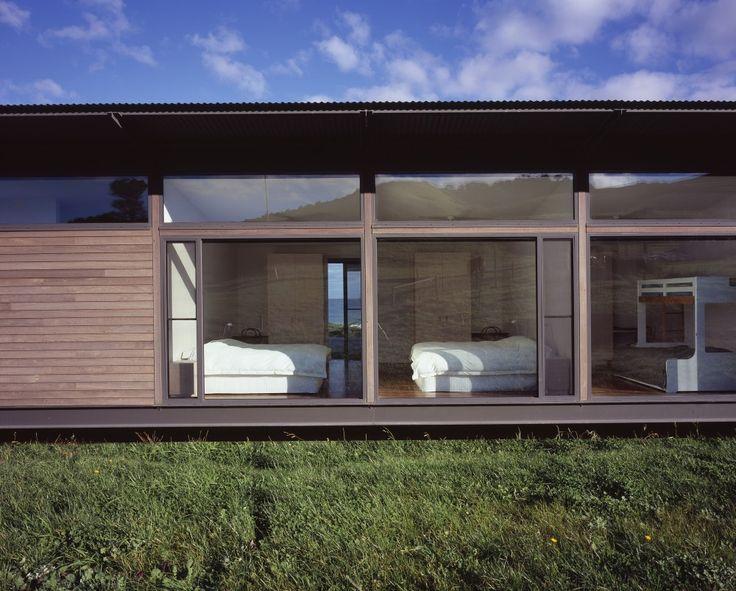 High outdoor windows