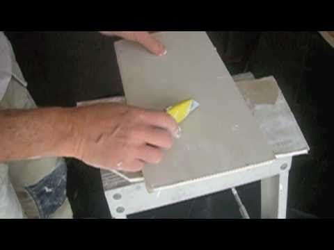Plasterboard - How to cut