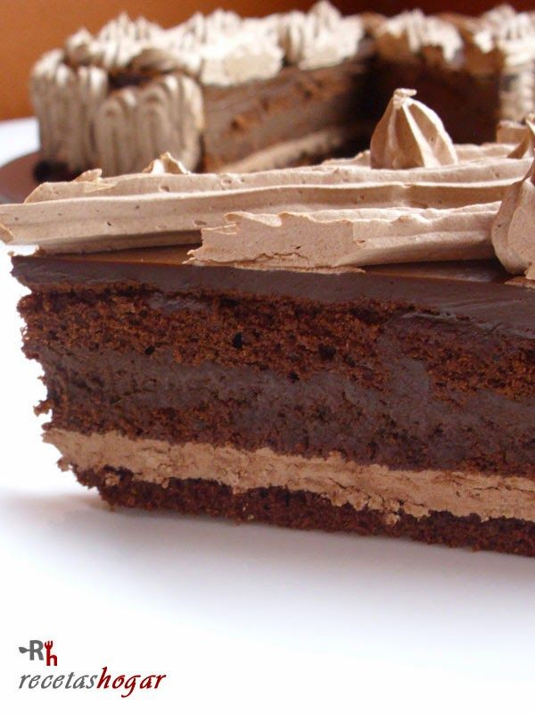 Tarta puro chocolate