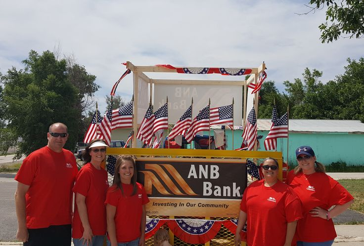 We had a great time walking in the Fourth of July parade in Gillette, WY! We loved seeing everyone and being out in the community! Member FDIC/Equal Housing Lender