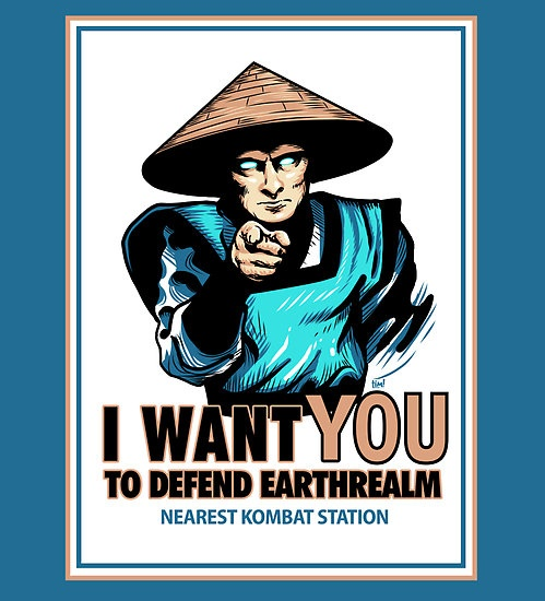 I Want YOU For Kombat by ninjaink