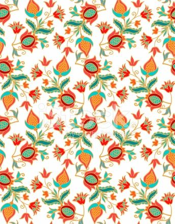 49404476-seamless-pattern-in-turkish-spanish-style-with-pomegranates.jpg (344×440)