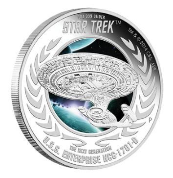 The beautiful colourized, proof quality coin has vibrant colours, a highly polished appearance and comes with a numbered certificate of authenticity. It also comes in a unique container that lights up when opened. #StarTrek Visit www.SilverGoldBull.com to learn more