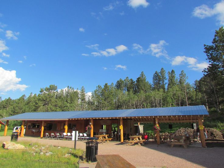 Newly expanded covered patio at the High Country Grille & Pub.