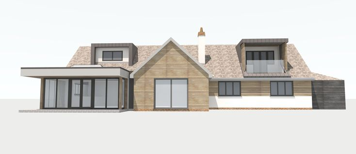 Modern dormer bungalow designs google search front of - Bungalow extension designs ...