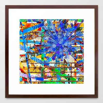 "Ana (Goldberg Variations #1)  by Wayne Edson Bryan    FRAMED ART PRINT / CONSERVATION WALNUT MEDIUM (GALLERY) (22"" X 22"")  $94.00"
