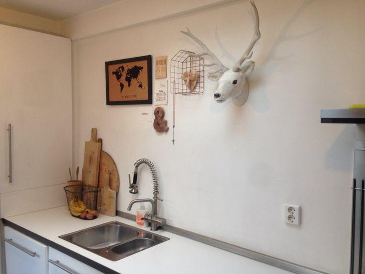 Hout en wit in je keuken