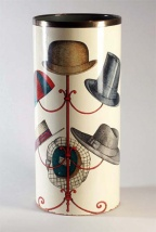 Piero Fornasetti Vintage Hats Umbrella Stand.