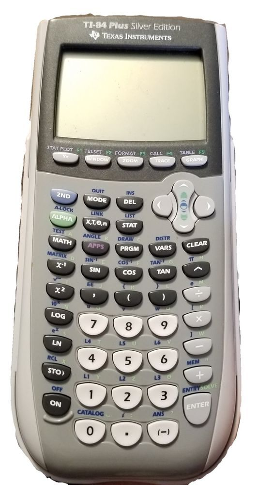 Texas Instruments TI-84 Plus Silver Edition - Graphing Calculator