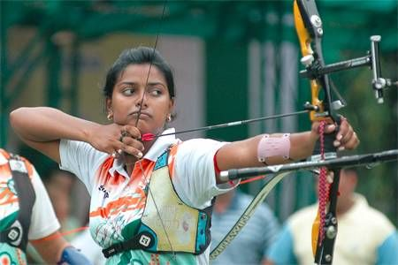 Indian women archery team earns Rio Olympic berths Indian women's recurve team earned Olympic quota for 2016 Rio Games while the men's trio failed to advance after squandering a handsome lead.