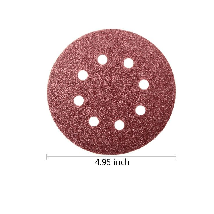 Pack of 5 Hurricane 3 Hook and Loop Sandpaper Soft Interface Pad for Sanding Curved Surfaces