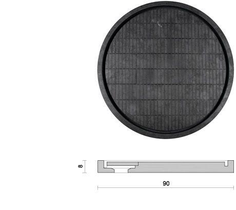 Idro Circle design Pibamarmi collezione: Basic collection  Piatto doccia in pietra scavata con scarico a scomparsa.  Dimensioni Ø 90 x 8 cm  Peso 165 kg   Disponibile in tutta la varietà di marmi a catalogo.  Tabla, Catino e Idro Circle
