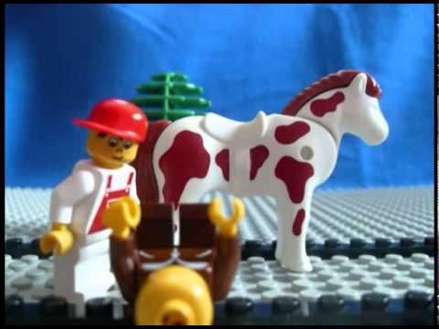 "Lego Parable-The Good Samaritan  Teaching us who are ""neighbor"" is. Luke 10:25-37 via Confirm not Conform"