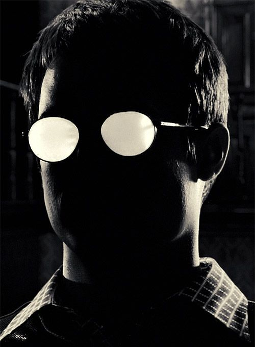 sin city. Creepy Kevin. This guy was just plain horrific. Good acting by Elijah Wood!