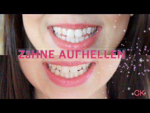 Super WEISSE Zähne - selbst AUFHELLEN in 3 Min.! - YouTube