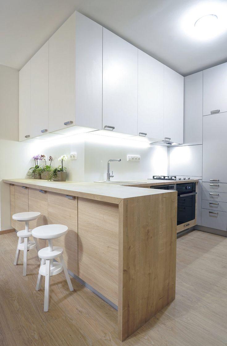 GALERIE: Jak se staví sen: Špatně koncipovaný panelákový byt se změnil v prostorné hnízdečko | FOTO 2 | Hobby | Blesk.cz