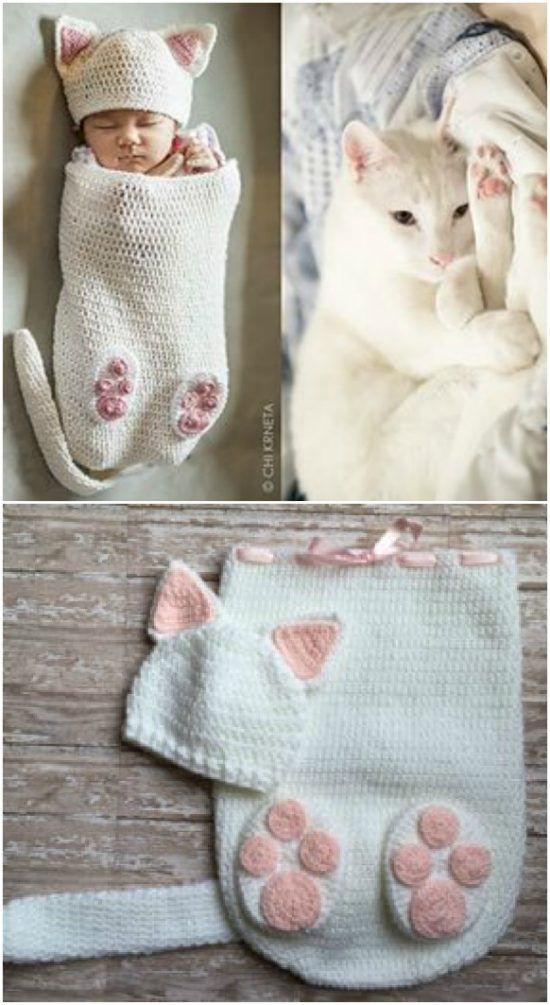 Häkeln Sie Baby-Kokons mit all den süßesten Ideen, die Sie lieben werden   – baby