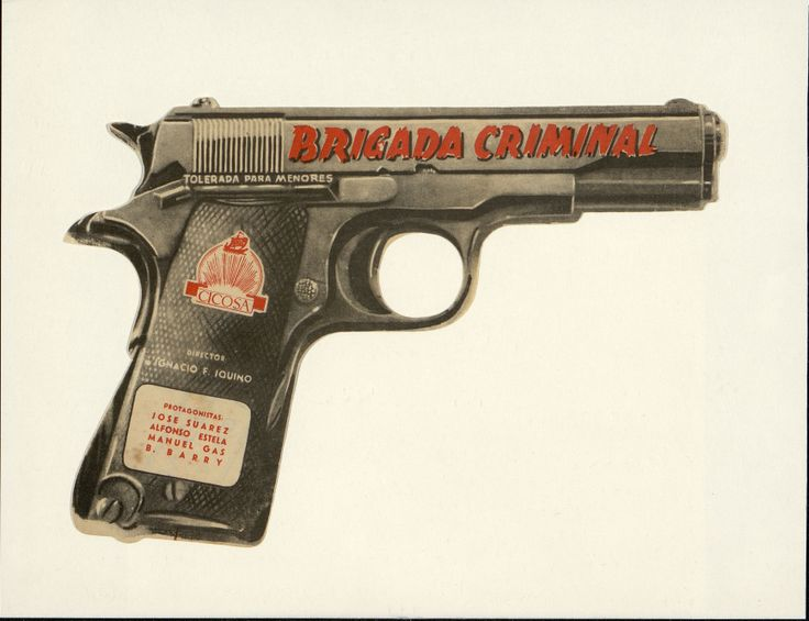4. Brigada criminal. Dirigida por Ignacio F. Iquino. [1950].#ProgramasdeMano #BbtkULL #Troquelados #DiadelLibro2014