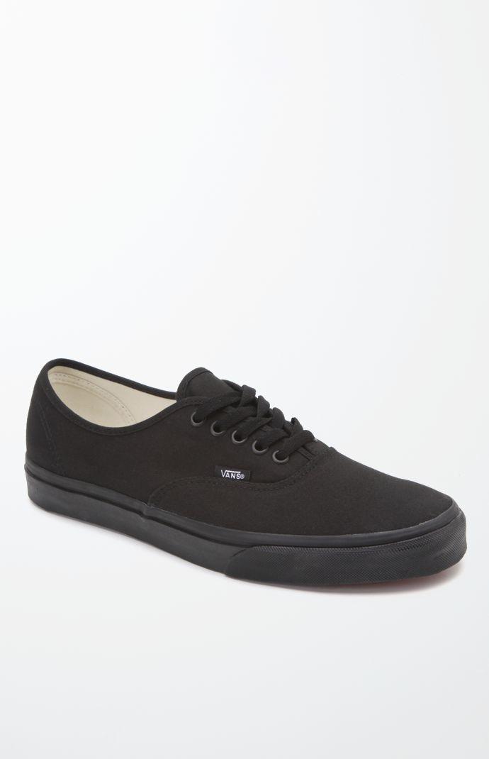 Vans Authentic Black Shoes in 2020