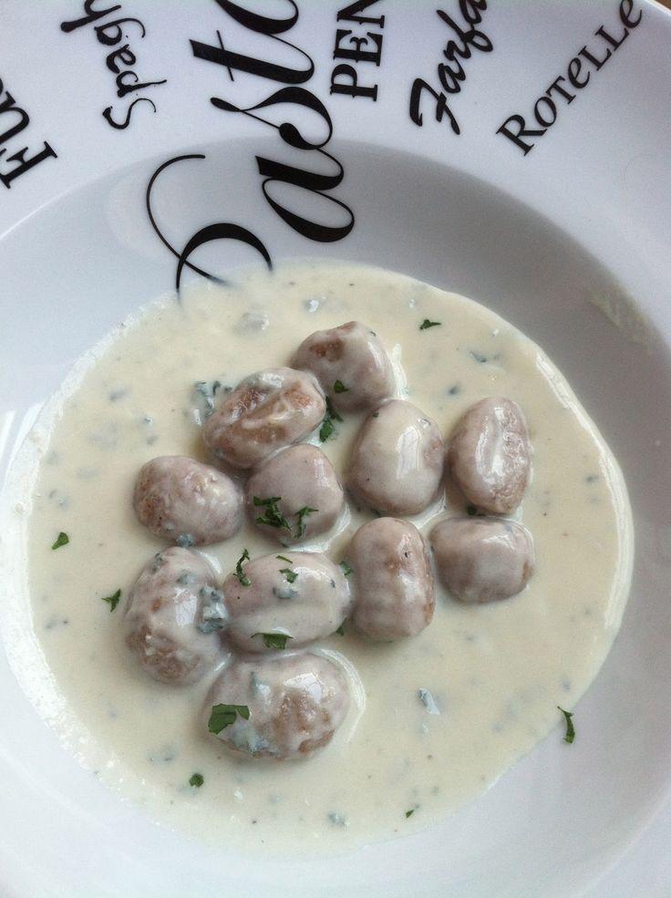 Kellis Kitchen: Whole Wheat Gnocchi with a Gorganzola Sauce