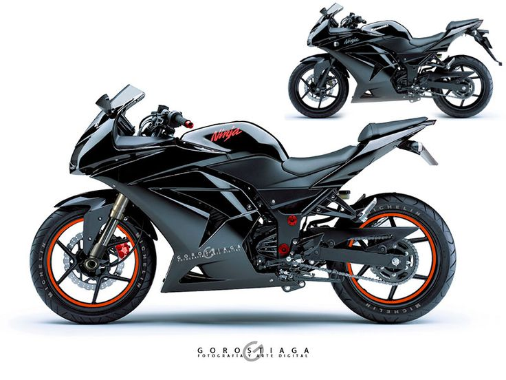 Ninja 250 R by MenceyDigital.deviantart.com on @DeviantArt