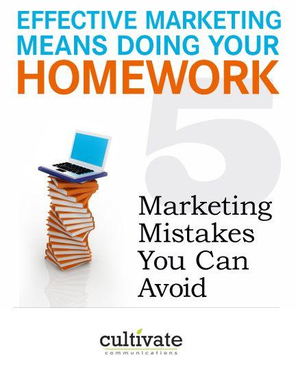 are marketing homework walkouts