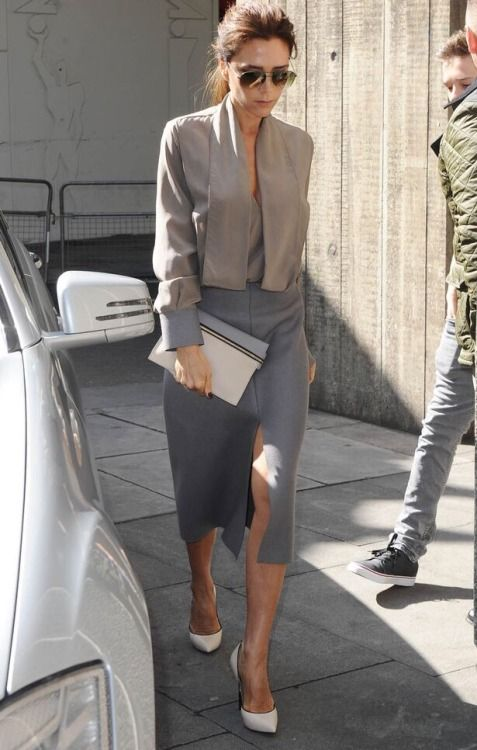 Victoria Beckham #Fashion for the workplace