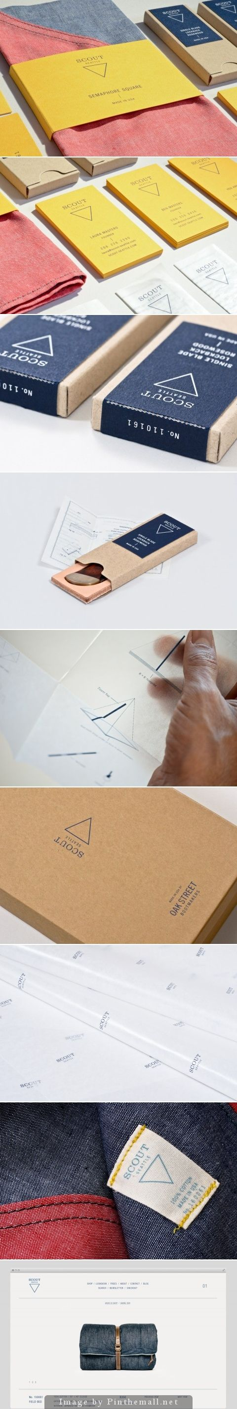Scout products #identity #packaging #branding PD