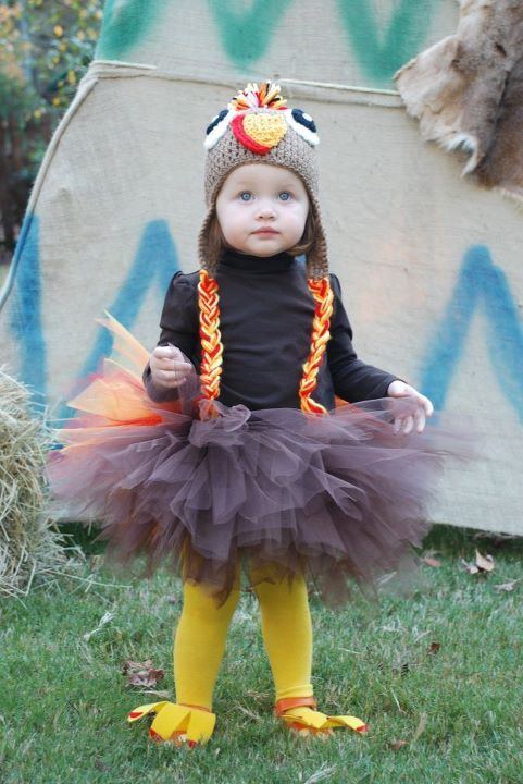 cute Turkey halloween costume