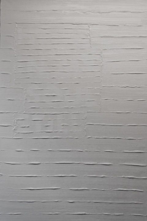 """Self portrait #1""  Acrylics on canvas, 1500 x 1000 mm, February 2012"