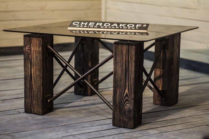 кавовий стіл | Конструкторское бюро Cherdakoff