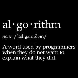 Definition of Algorithm by returnsaph