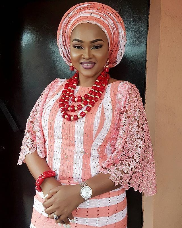 435 best Lace/Aso-Ebi images on Pinterest   African clothes, African ...