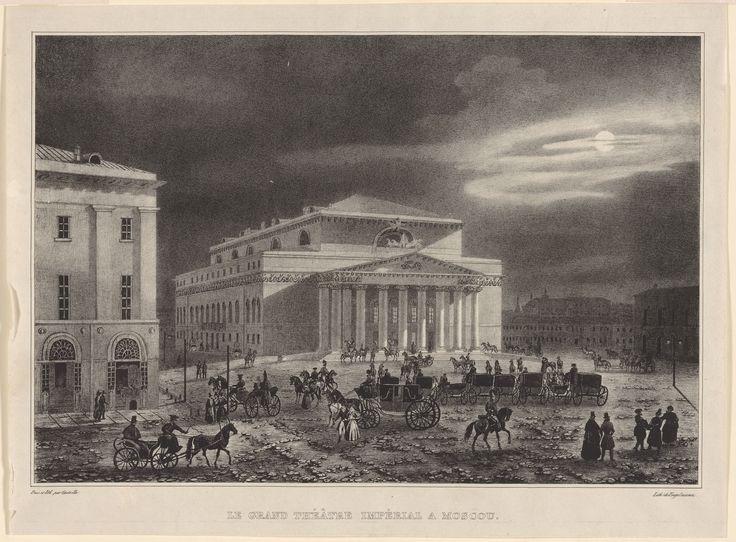 Большой театр, Кадоль. О.Бове, 1821-1824