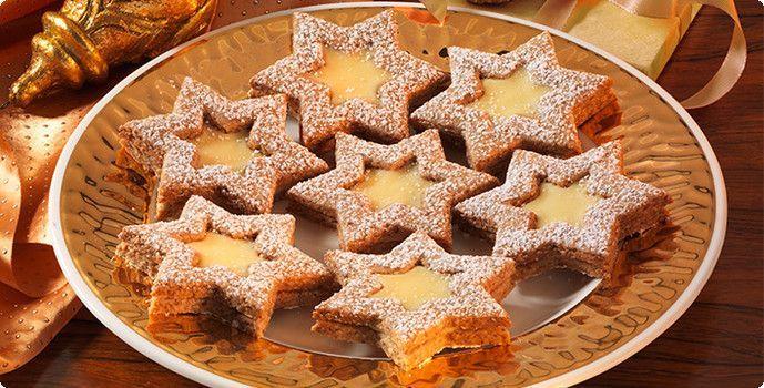 Rezepte Plaetzchen 04Eierlikoer-Zimt-Sterne da P