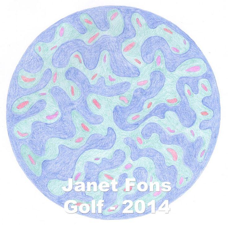 golf mandala Janet Fons