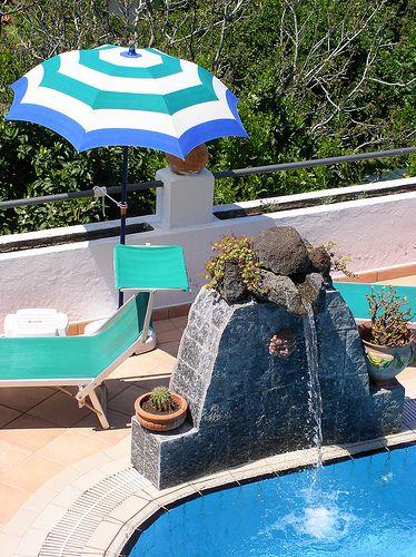 Cervical waterfall - Piccola Cascata cervicale by Hotel Ape Regina Ischia, via Flickr