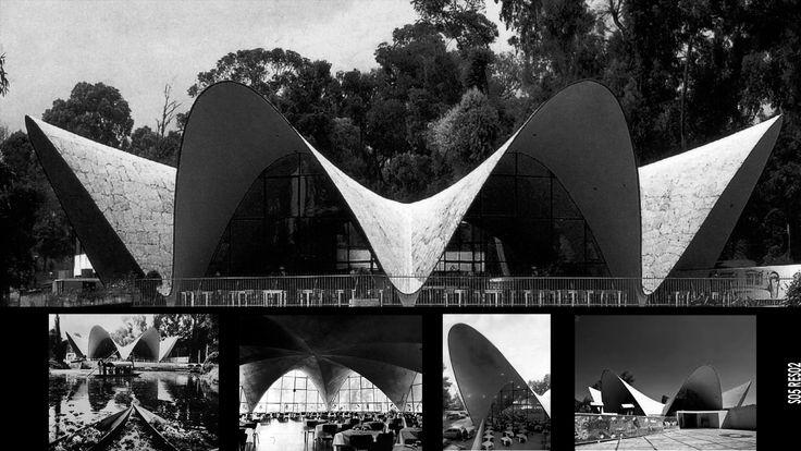 La #geometría es parte importante del #diseño. #restaurante #LosManantiales #FélixCandela #arquitectura #architecture#design #Xochimico #restaurant