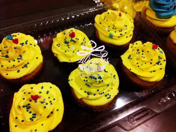 Colombian cupcakes