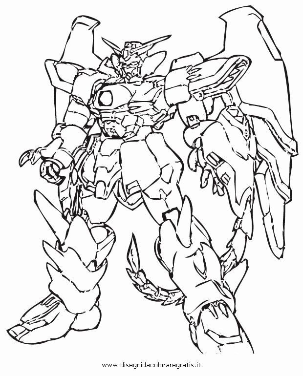 Gundam Coloring Pages : gundam, coloring, pages, Printable, Coloring, Pages