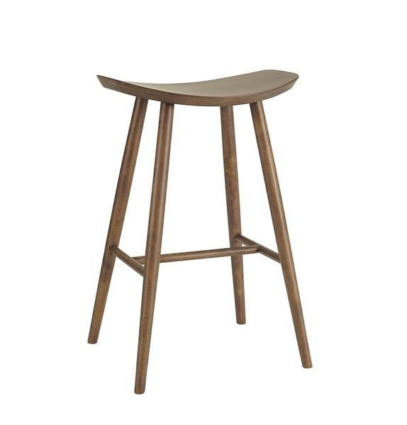 Philana Bar Stool   Walnut | Modern, Mid Century U0026 Scandinavian | Bar Stool,  Scandinavian And Stools