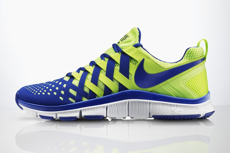 On March 28, Nike will release this dream shoe, Nike Free Trainer 5.0—and it's inspired by a Chinese finger trap. When the shoe is relaxed in a static state and not in motion it becomes very comfortable and loose, but as soon as you start moving and flexing your feet, the body of the shoe explosively tenses, creating a better fit, which in turn helps muscles become stronger. Plus, they come in flashy color combos.
