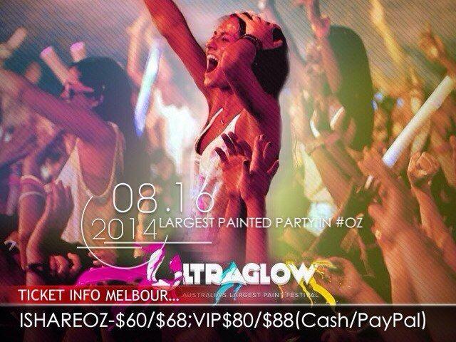 16Aug Ultraglow Melbourne 2014 Tickets on sale
