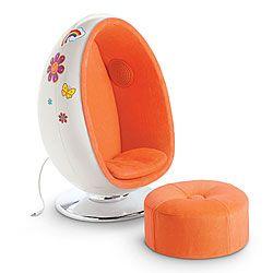 NEW! Julie's Egg Chair Set
