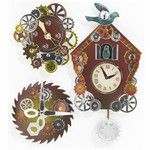 Jolee's Steampunk Coo Coo Clock Dimensional Stickers