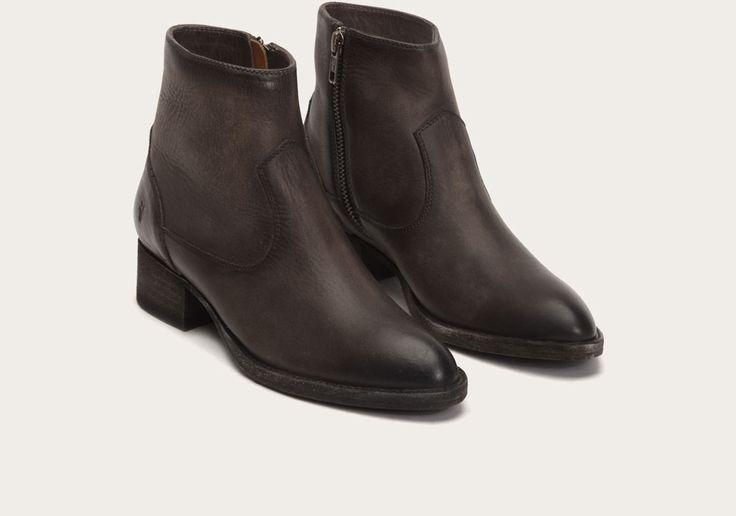 Brooke Short Inside Zip Boots Frye Since 1863 Goth