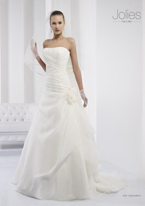 Collezione abiti da sposa #Jolies, abito da #sposa modello JOAB13487IV